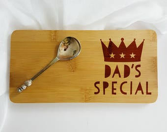 Personalised Dad's Special Coaster-Gift for Dad-Birthday Gift for Dad-Dad's Special-Father's Day Gift-Gift for Coffee-Father's Day