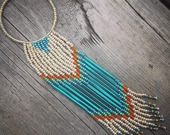Tuxal Waterfall Necklace