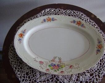 Vintage 1920's Serving Plate Made in Japan