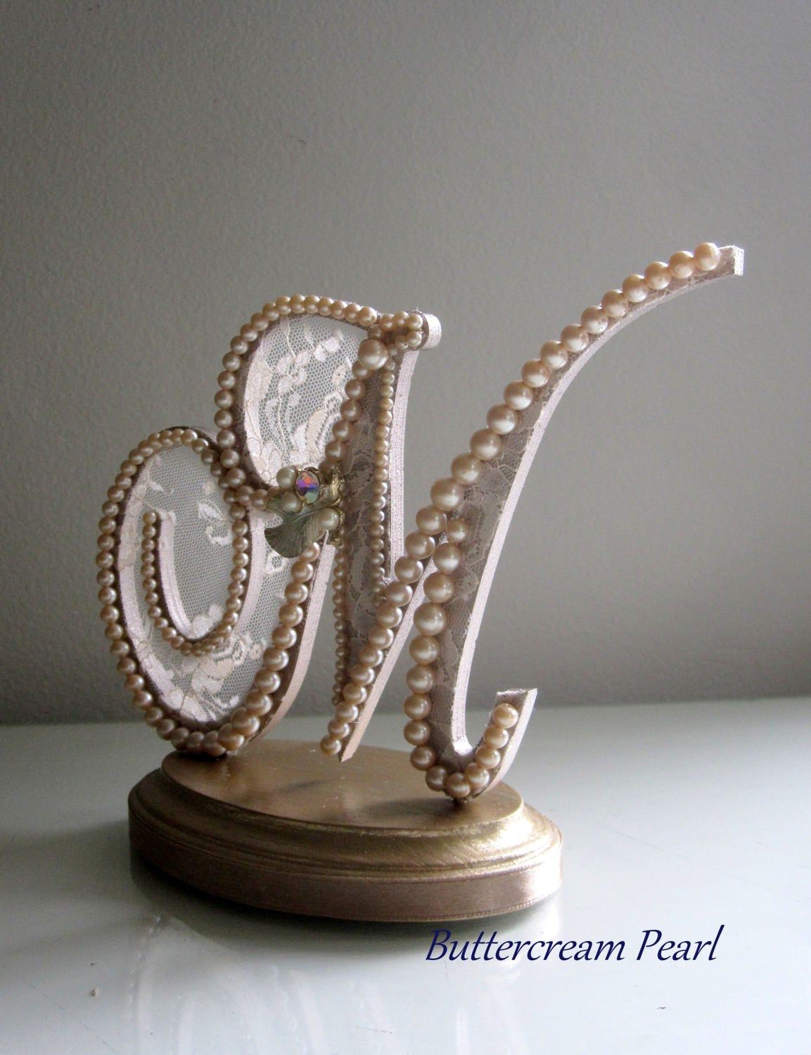 rose gold monogram wedding cake topper wedding cake topper monogram m topper gold topper 19280