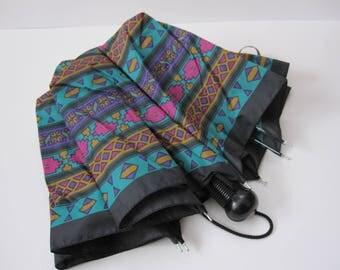 Bright Vintage 90s Umbrella