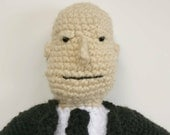 Custom Order for JD - Alfred Hitchcock Crochet