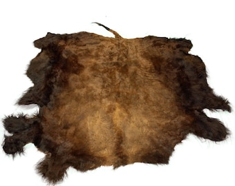 Glacier Wear Select Buffalo Bison Robe Hide Rug #0009