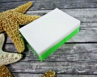 Coconut Bay Soap - Glycerin Soap - Soap Bar - Coconut Soap - Handmade Soap - Vegan Soap - Coconut Milk Soap - Soap - Bar Soaps