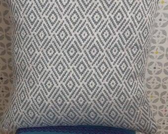 Retro style cushion cover.