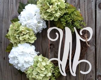 Lime and White Wreath,Spring Wreath,Summer Wreath,Spring Door Decor,Wreath for Spring,Valentine's Wreath,Mother's Day Gift,Wedding Wreath