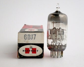 Heathkit 6BJ7 vacuum tube - new old stock - original box