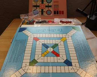 Whitman Deluxe Pachisi Game
