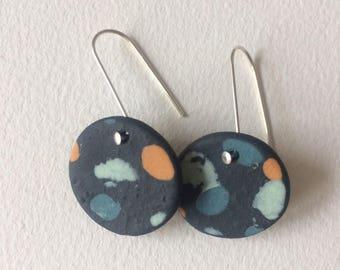 Black Cloud Earrings