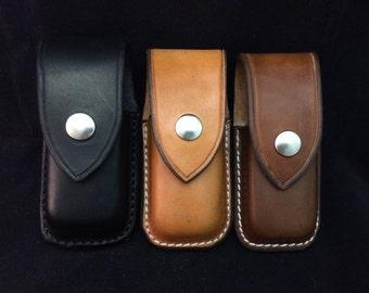 Nay's custom leather sheath leatherman Wave/Charge