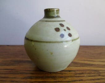 Vintage Leach Pottery St. Ives Small Vase