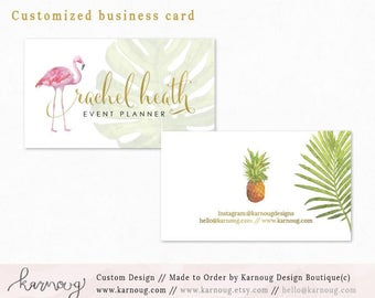 Business Card|Instant Business Cards|Party Business Cards|Custom Business Cards|Printable Business Cards|Watercolor|Gold|Printable Cards