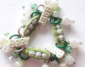 New baby bracelet/Beadiebracelet