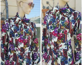 vintage secretary blouse by Born Worth
