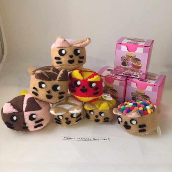 Cat In Bread Box Amazing Mini Pan Dulce Cats Blind Box Surprise Plush Toy Mexican