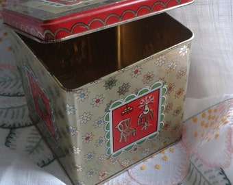 Nineteen Sixties Vintage Tea Tin