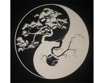 Yin Yang Crew T-Shirt WH