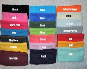 WHOLESALE PRICES  Fleece ear warmers,  Headbands, Fleece head band, Ear Warmers, wholesale fleece headband