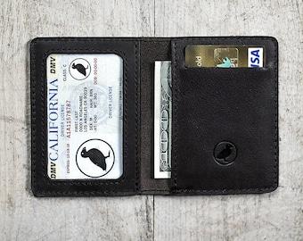 Men's Wallet Credit Card Holder Minimalistic Wallet Slim Wallet Dark Brown Leather Personalized Wallet (if needed)