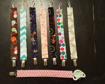 Pacifier clips, baby