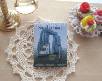 dollhouse stonehenge   magazine 12th scale miniature