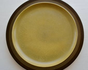 "Arrowstone Apache Gold Olive Green Dinner Plate 11""  Kasuga"