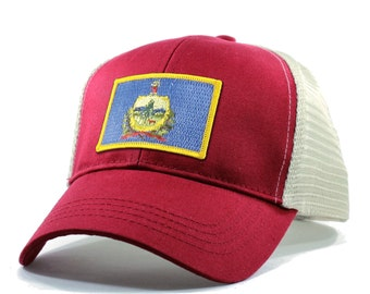 Homeland Tees Vermont Flag Hat - Trucker