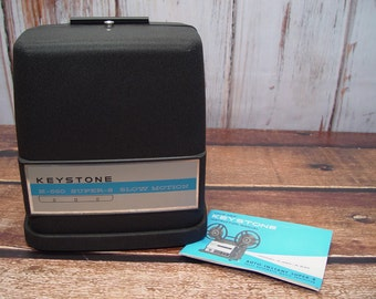Working Keystone K-550 Auto Instant Super-8 Fully Automatic Movie Projector