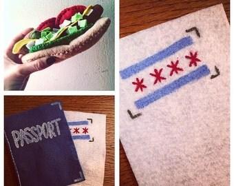 "Kiddie ""Chicago Style"" Hotdog Set"