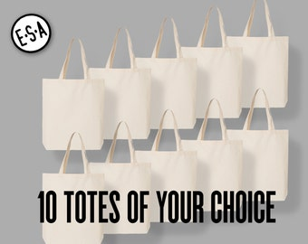 10 Totes Of Your Choice