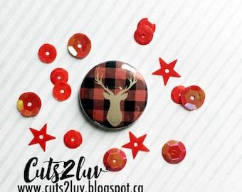 """Badge 1 """"deer Kraft"""