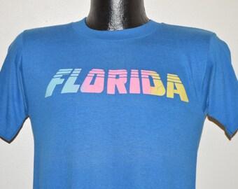 80s Pastel Florida t-shirt Small