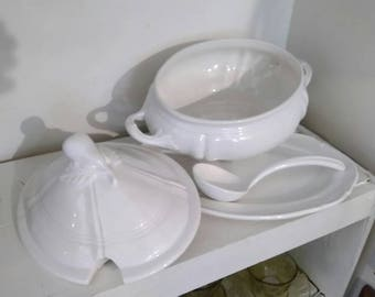 Tureen, Whittier ,USA, white