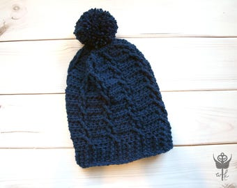 Cabled Slouch