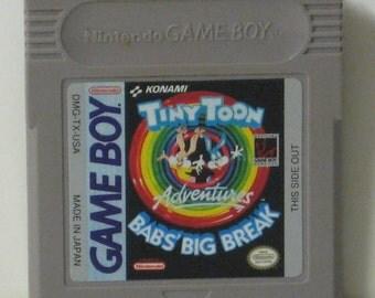 Nintendo Game Boy Tiny Toon Adventures Babs' Big Break Cartridge - Gameboy