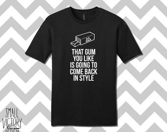 That Gum you like, Twin Peaks, Twin Peaks Coffee, Twin Peaks shirt, Damn Fine Coffee Shirt, Damn Fine Coffee Unisex, personalized gift