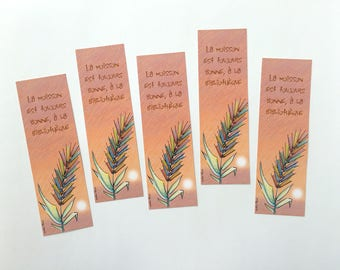 Lot of bookmarks harvest, mark illustrated page, collection of bookmarks, reading accessory, library