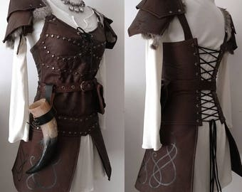 Viking dragon elegant armor