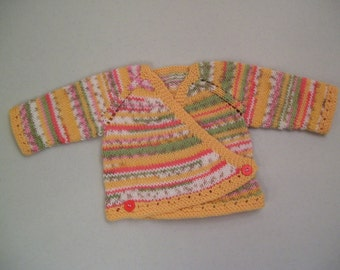 Sale Buttercup Newborn Wrap Sweater