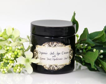 Organic Anti-age cream with green tea japonaise&jasmin