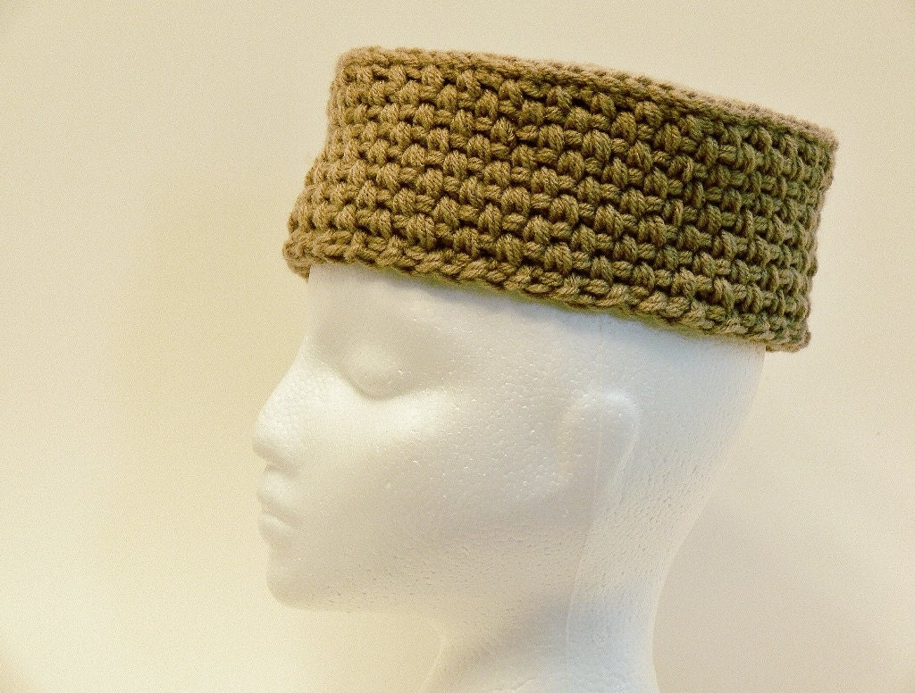 Easy Crochet Pattern Pill Box Cossack Chunky Hat Sizes