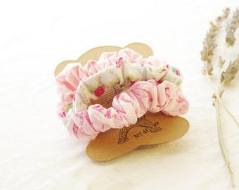 Ballerina Scrunchie Set - Accessories Hair Tie Hair Band Floral Scrunchy Mothers day gift