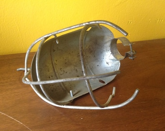 Vintage Cage Light Hook Light