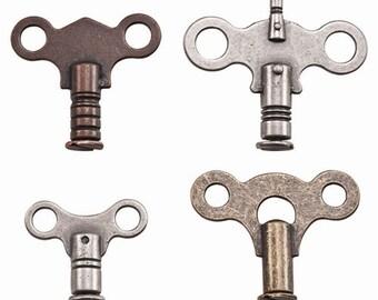 Tim Holtz Idea-ology CLOCK KEYS 3.cc1x