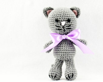 Crocheted Kitty - Meow