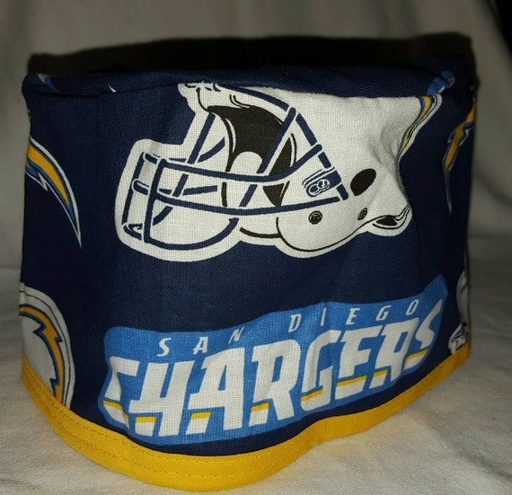 Chargers Surgical cap