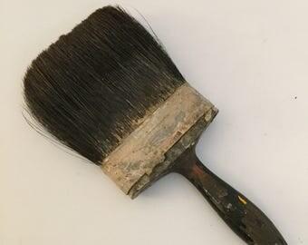 """Vintage 5"""" Horse Hair Paint Brush"""