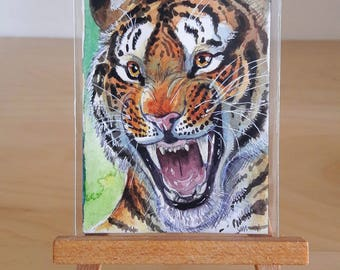 ACEO ORIGINAL - Tiger