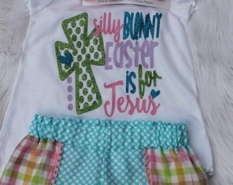 Easter Outfit, Easter Shirt, Easter Shorts