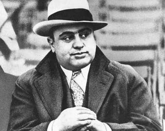 Al Capone in a photo from the 1920's